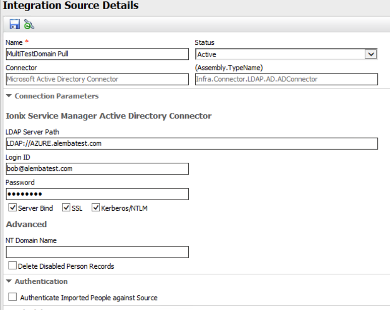 Configuring Azure Active Directory discovery