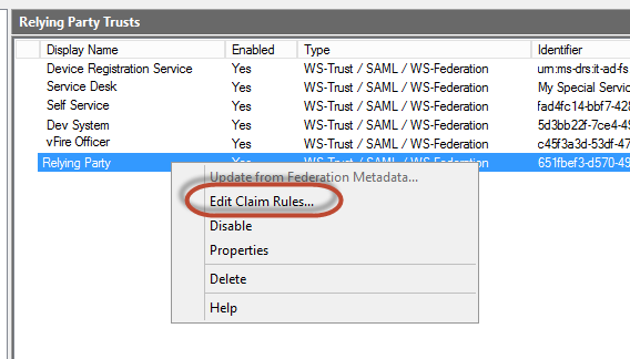 Azure Ad Sso Claims